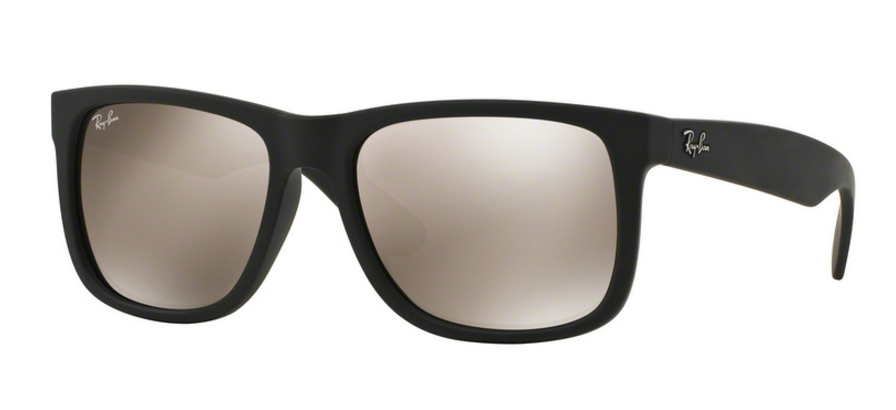 Ray-Ban Justin RB4165 622/5A Rubber Black