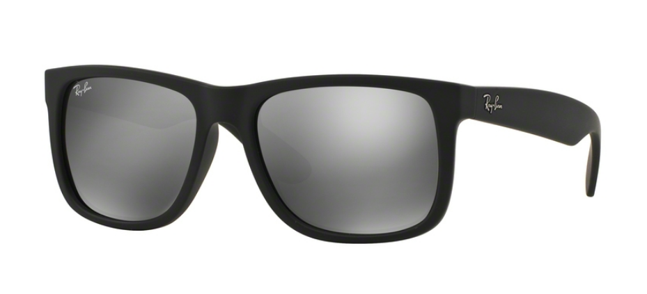Ray-Ban Justin RB4165 622/6G Rubber Black