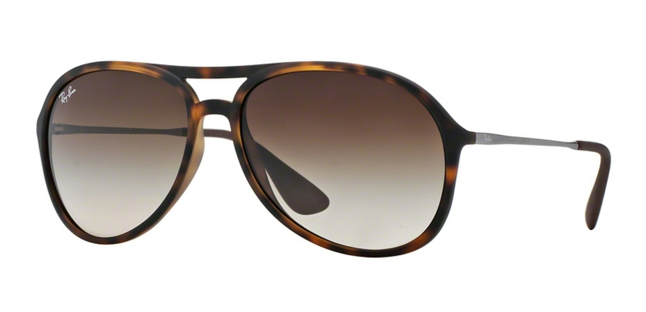 Ray-Ban Alex RB4201 865/13 Rubber Havana