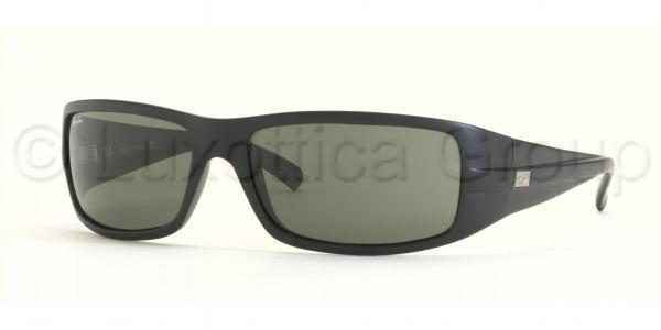 ray ban mat zwart zonnebril